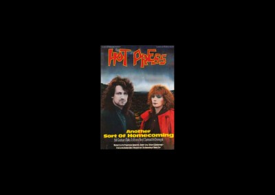 01-Hot Press cover Feb 1986 for In a Lifetime release
