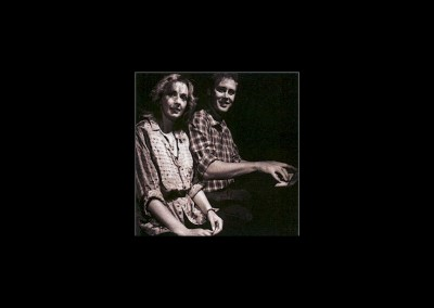 03-with Bruce Hornsby for Something to Believe In recording 1987